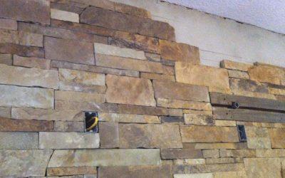 Installing Thin Veneer Stone